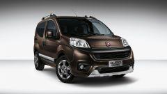 Fiat Qubo restyling: l'allestimento Trekking propone di serie il sistema Traction+