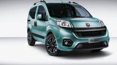 Fiat Qubo restyling: le novità maggiori si trovano all'anteriore, con paraurti e calandra ridisegnati