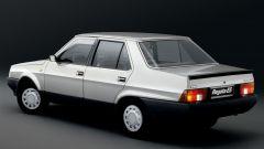 Fiat Regata: il posteriore