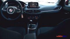 Fiat Tipo 5 porte in allestimento Lounge ha di serie lo schermo da 7 pollici