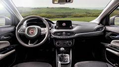 Fiat Tipo 5 porte, l'infotainment da 7 pollici
