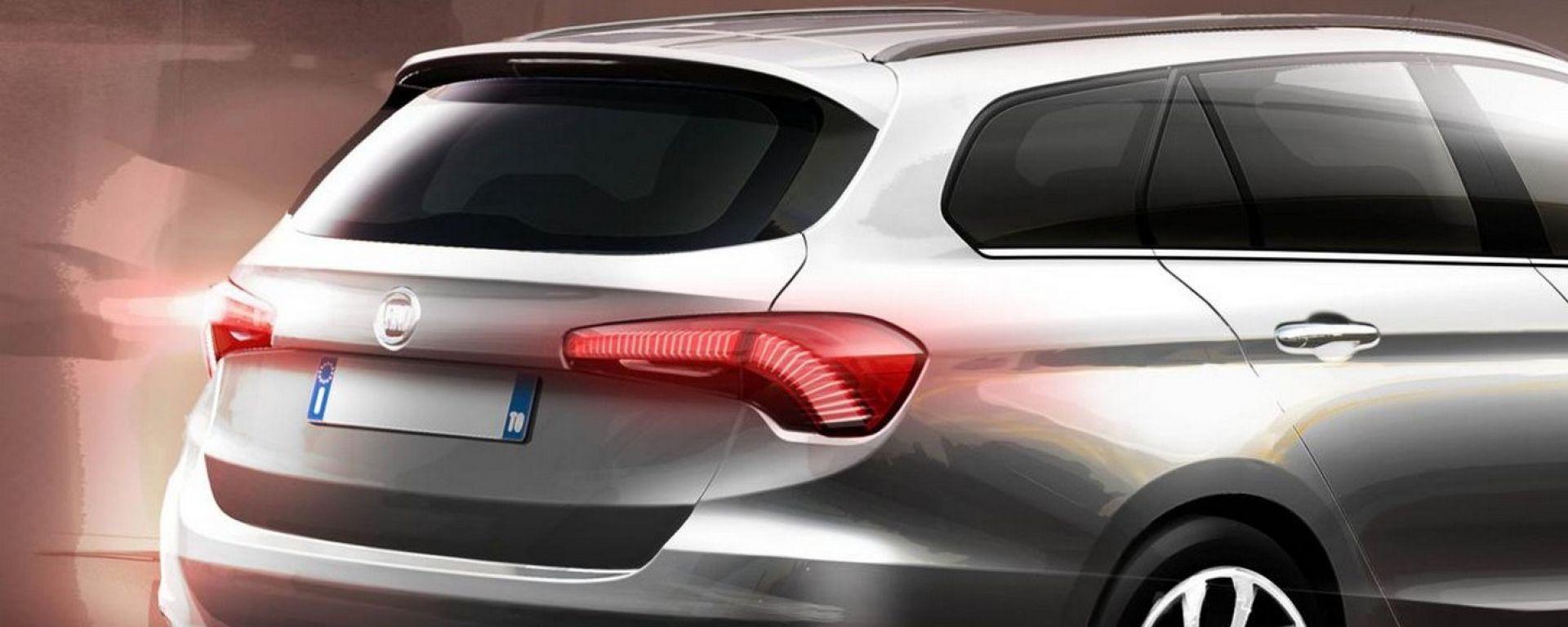 Fiat Tipo: il teaser della wagon