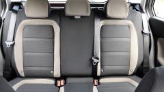 Fiat Tipo Station Wagon Lounge: dettaglio del divano posteriore