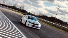 Fiat Tipo TCR 2018 - l'esordio sulle curve del circuito di Adria