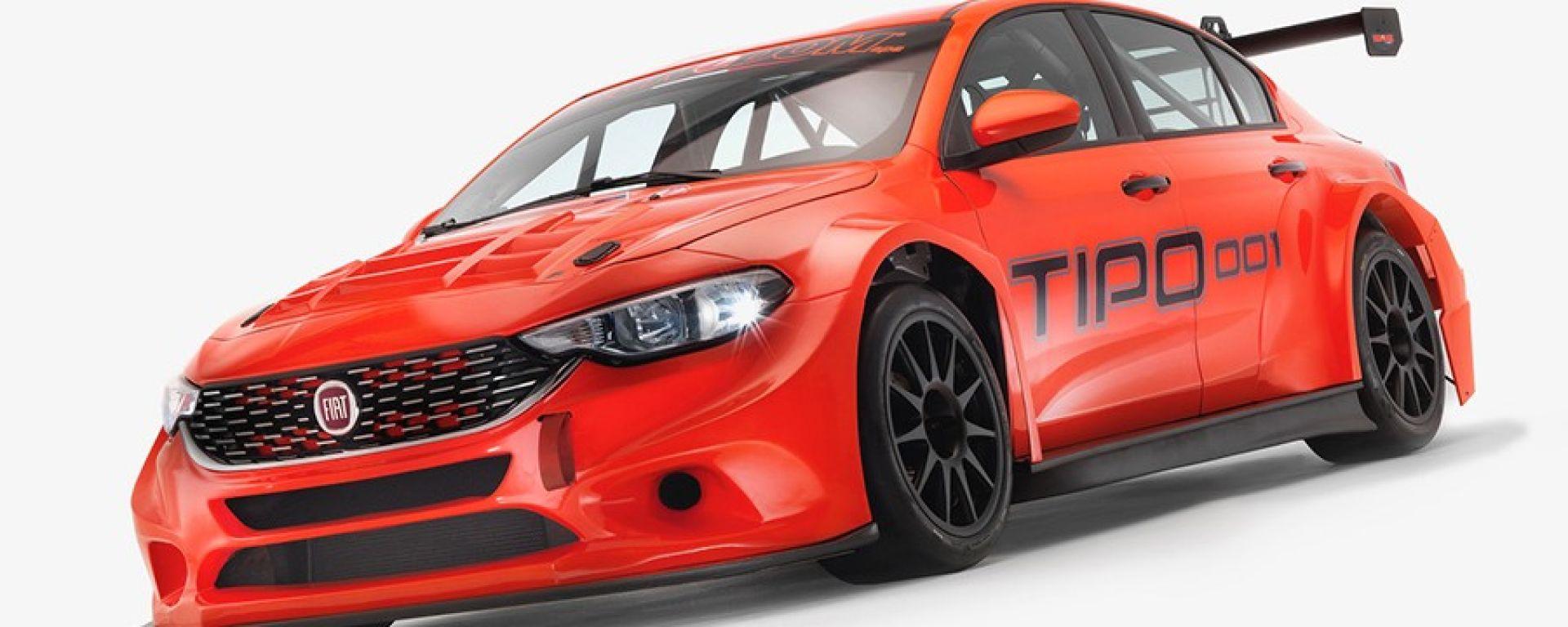 Fiat Tipo TCR: la vettura del gruppo FCA punta al primato nel TCR