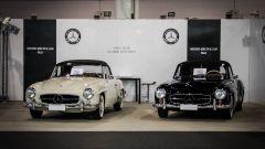 Fiera Auto e Moto d'Epoca: stand Mercedes 2018
