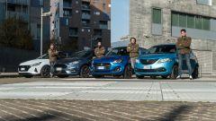 Fiesta, Ypsilon, i20 e Swift: mild hybrid a confronto in video - Immagine: 1