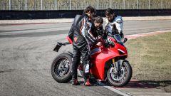 Filmando il display della Ducati