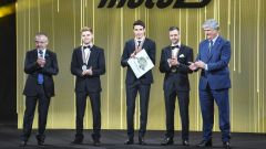 FIM Awards 2019, Valencia: Brad Binder, Alex Marquez, Thomas Luthi