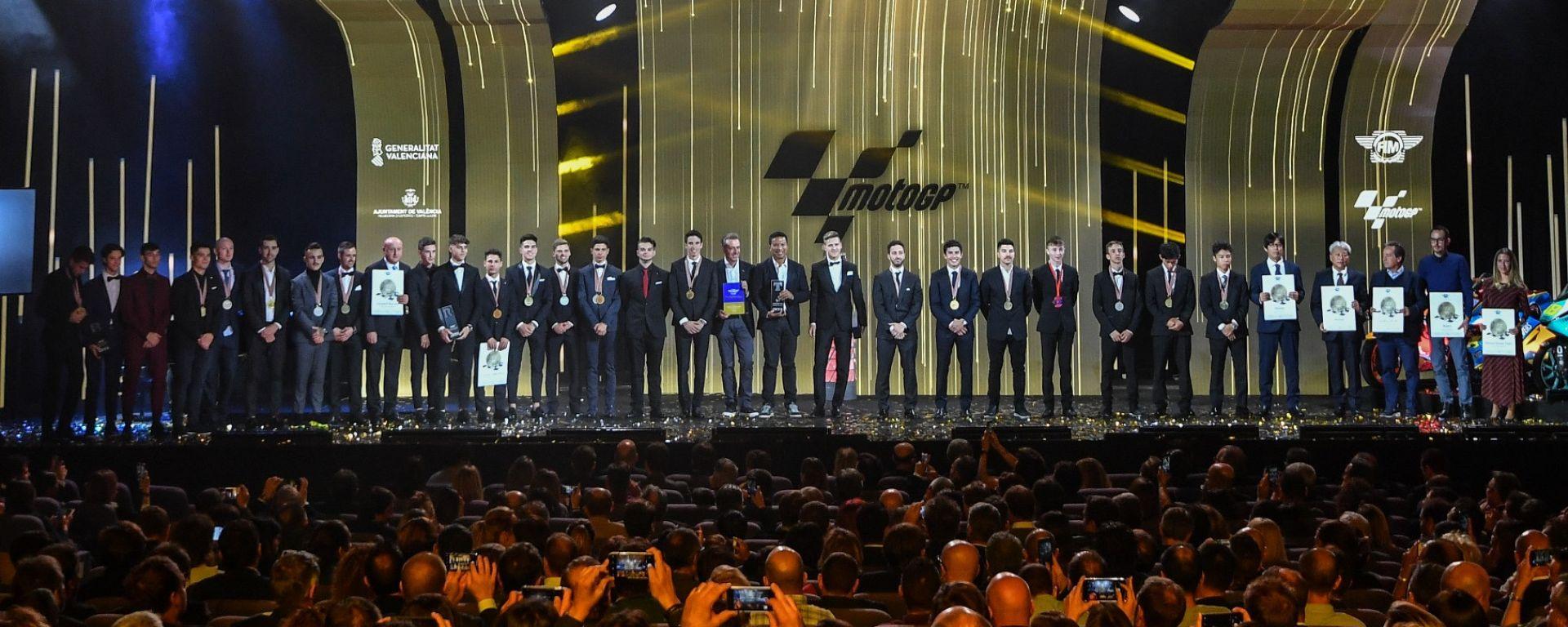FIM Awards 2019, Valencia: foto di gruppo