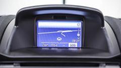 Fin troppo piccolo lo schermo dell'infotainment, risulta comunque funzionale - Ford Fiesta ST200