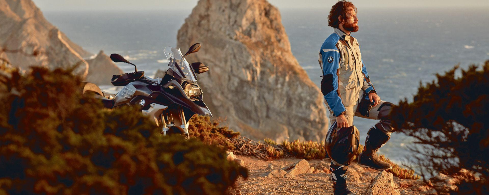 Finanziare l'abbigliamento moto? Da oggi si può con BMW Fit2Ride