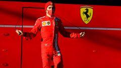 Fiorano, 26 gennaio 2020, Charles Leclerc (Ferrari)