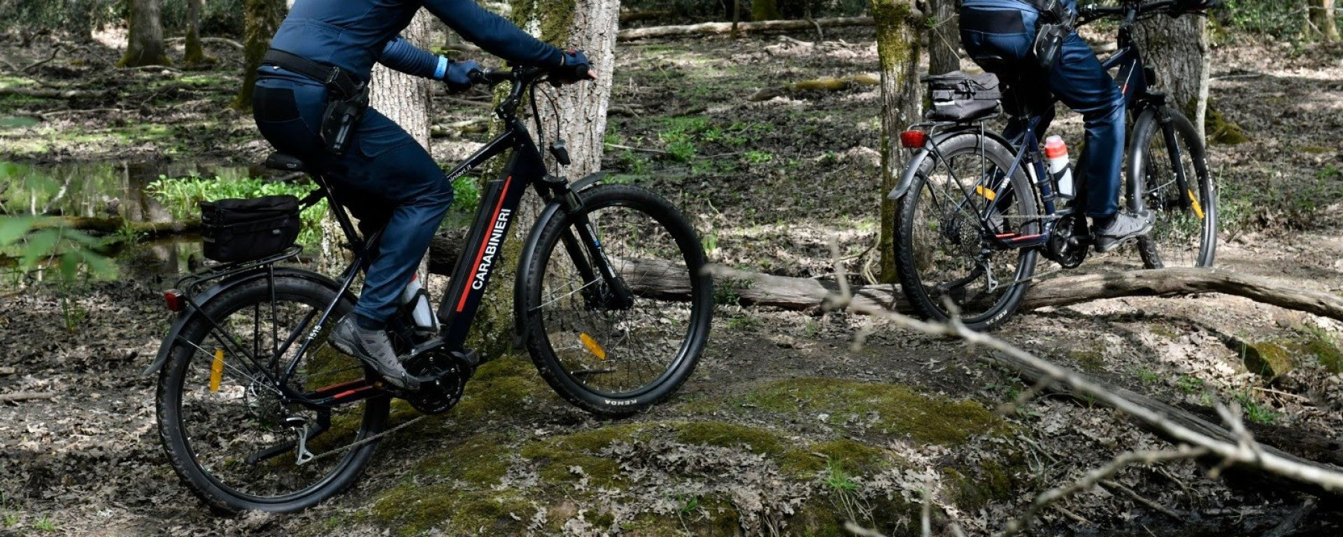 FIVE Trail Ultra in dotazione ai Carabinieri della Forestale