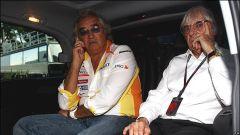 Flavio Briatore ai tepi della Renault ING F1