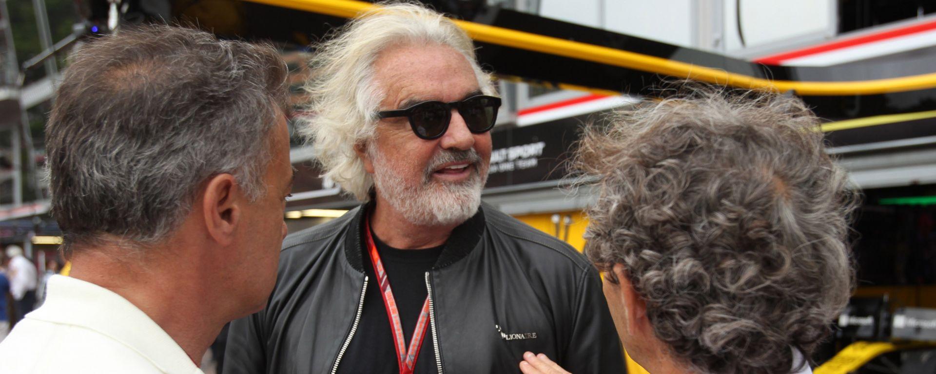 Flavio Briatore è stato team principal della Benetton e della Renault in F1
