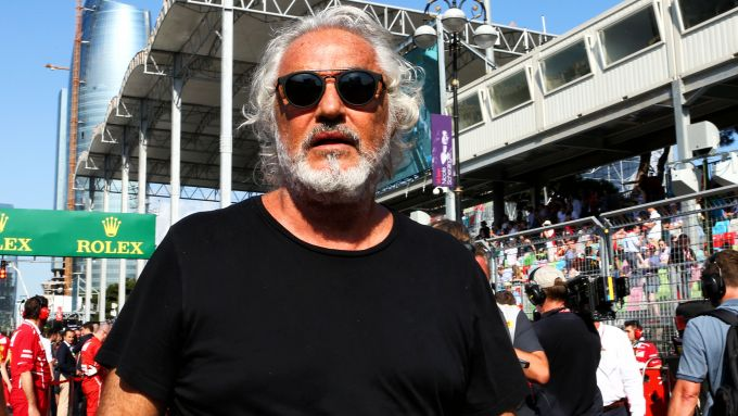 Flavio Briatore ospite al Gran Premio d'Italia a Monza