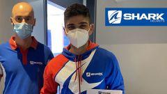 Jorge Martin correrà in MotoGP con casco Shark