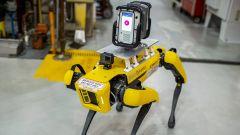 Fluffy, il robot usato da Ford per scansionare il Van Dyke Transmission Plant del Michigan, USA