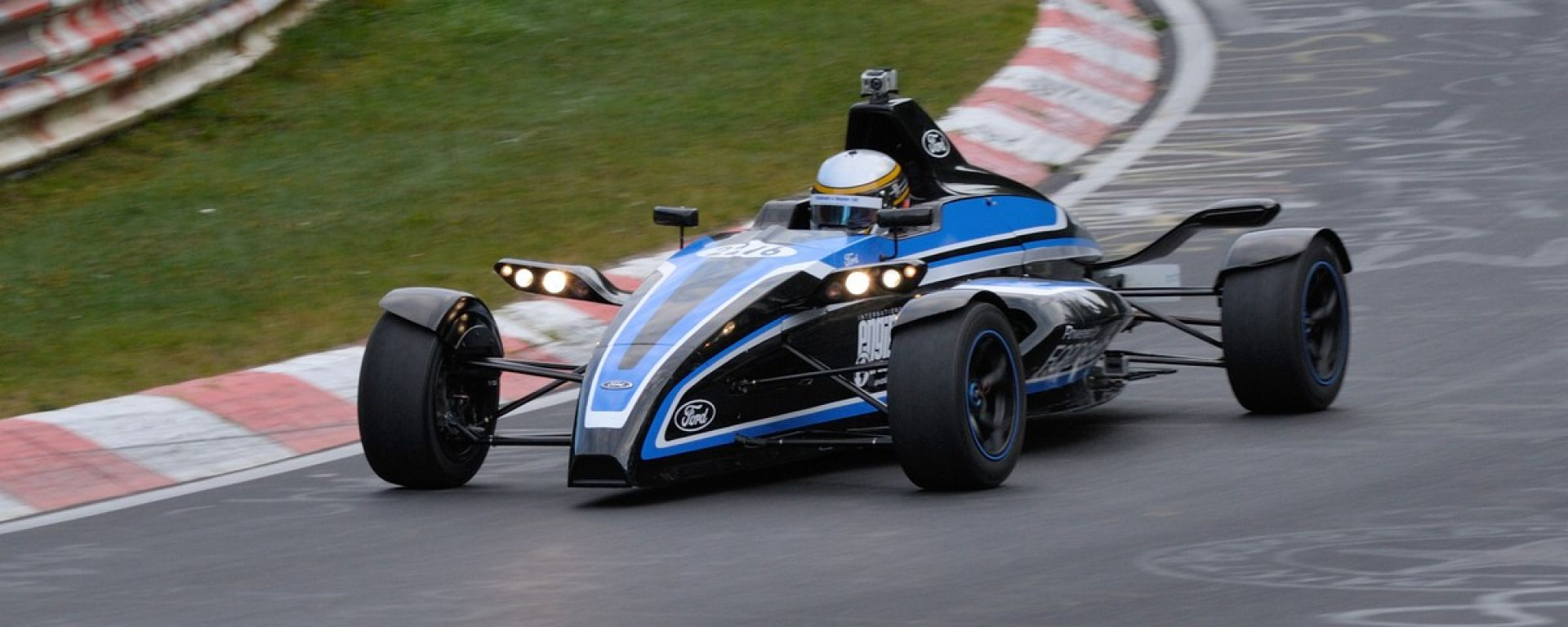 Formula Ford 1.0 EcoBoost: 7' e 22'' al Nürburgring