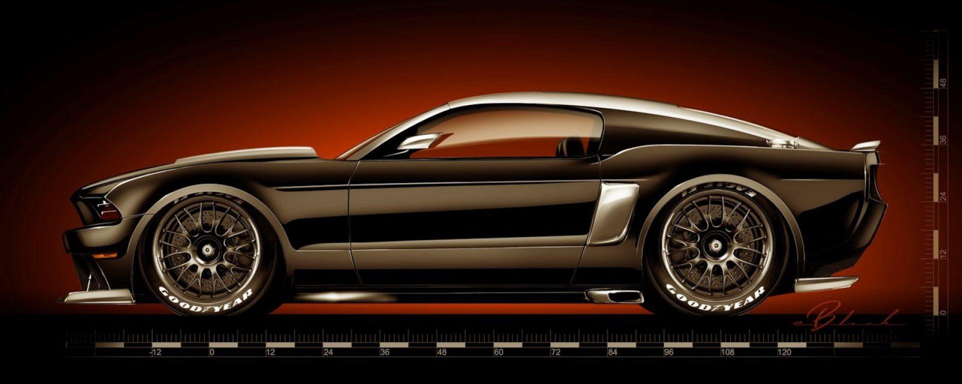 Ford: 57 concept per il SEMA 2013