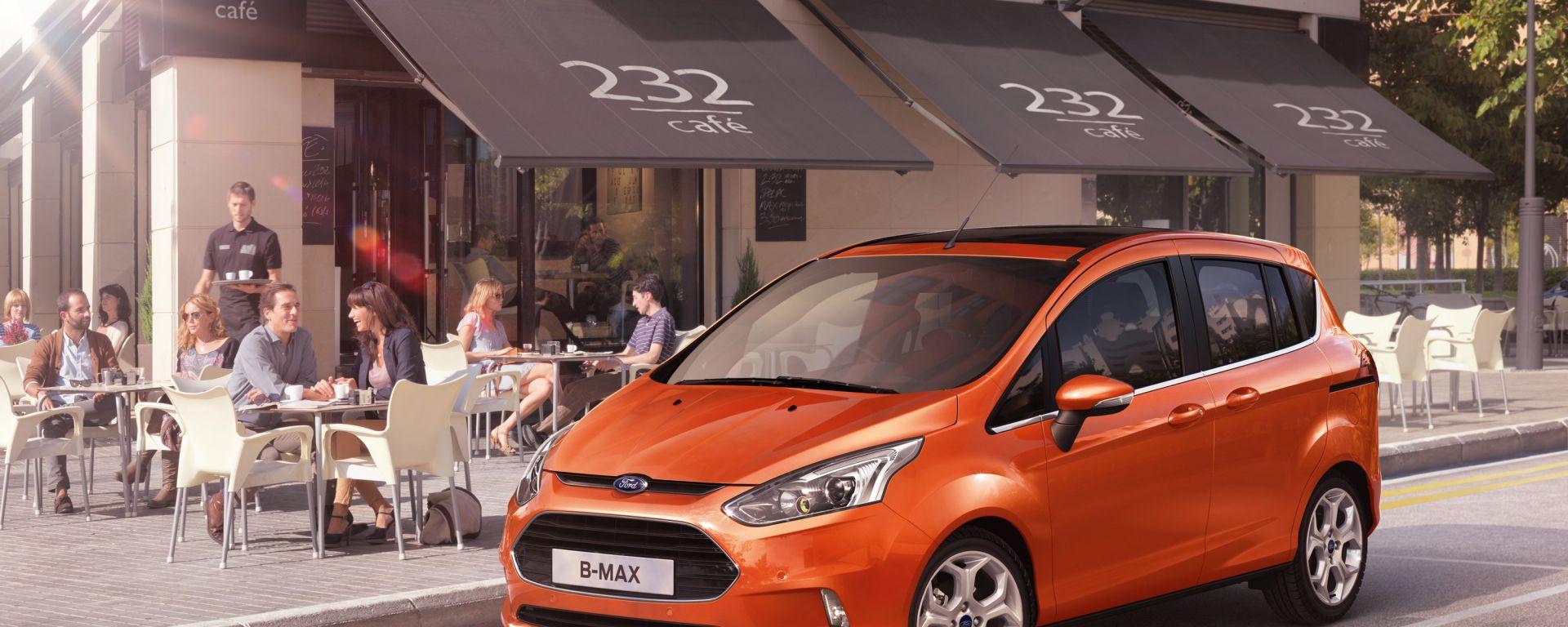 Ford B-Max: apre le porte in un video