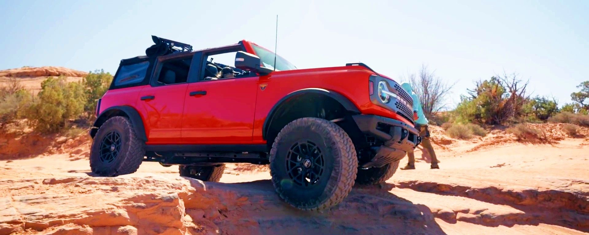 Ford Bronco 2021 allo Hell's Revenge 4x4 Trail