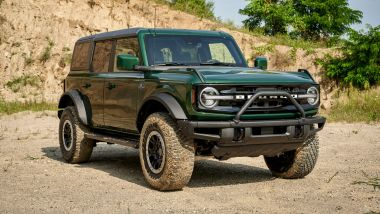 Ford Bronco 2021: frontale