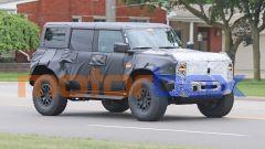 Foto spia di nuovo Ford Bronco Raptor: com'è fatto, come cambia