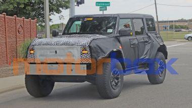 Ford Bronco Raptor 2022: visuale di 3/4 anteriore