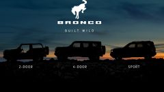Ford Bronco, ultimo teaser prima del reveal