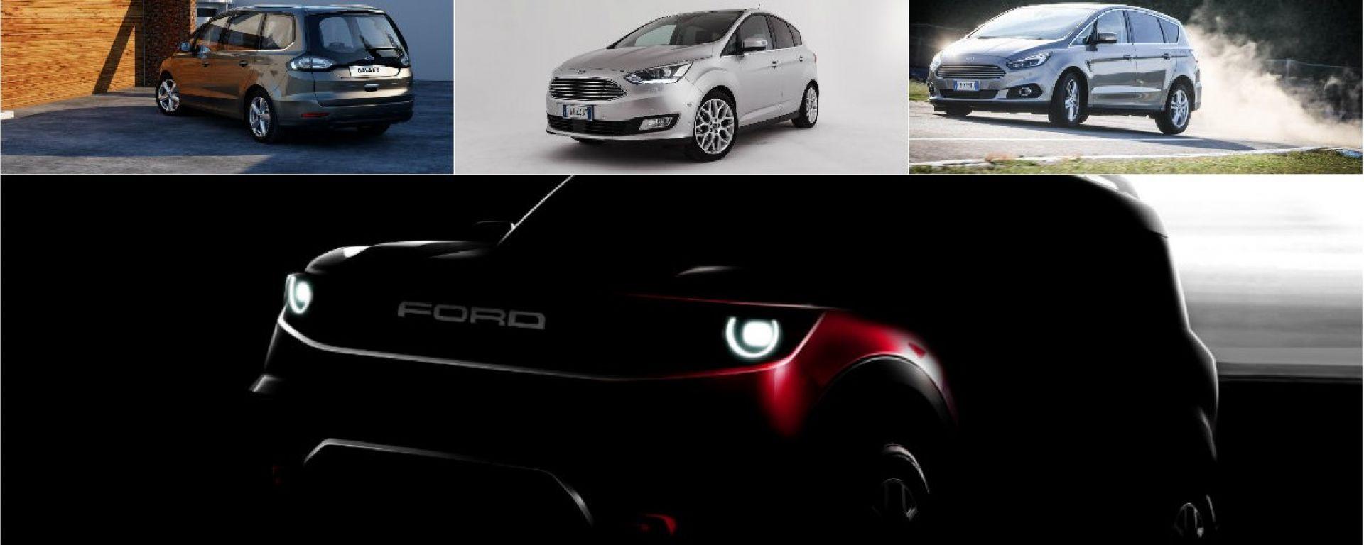 Ford C-Max, S-Max e Galaxy addio? Spazio a SUV e crossover