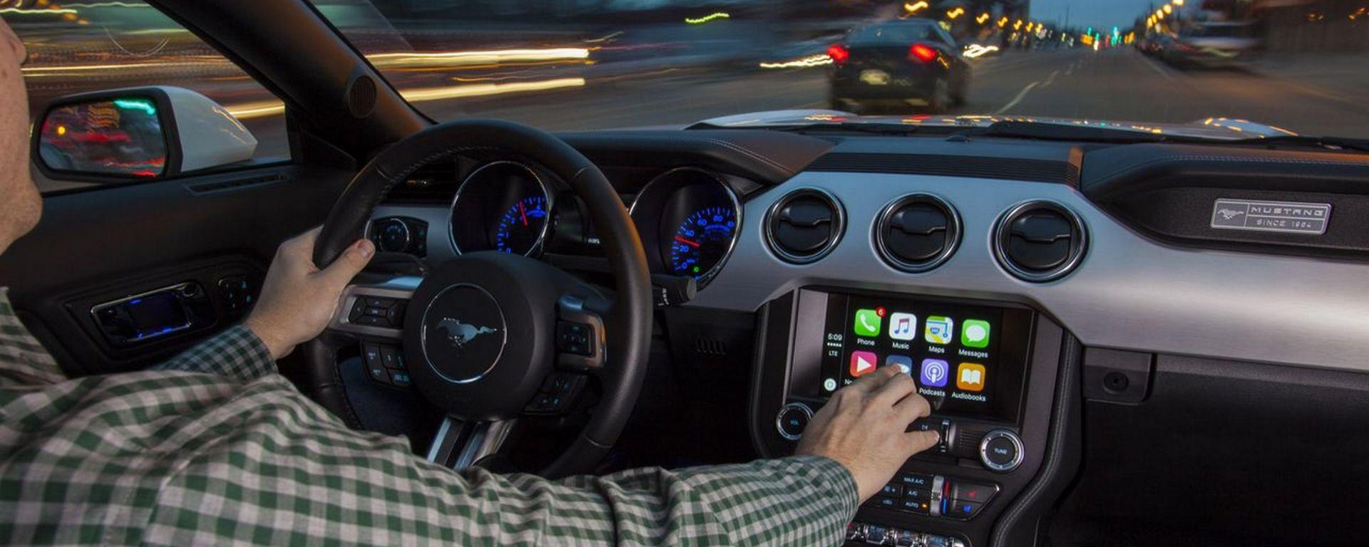 Ford: dal 2017 Car Play e Android Auto su tutti i modelli