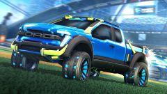 Rocket League: il pick-up Ford F150 RLE nel videogame. Il trailer