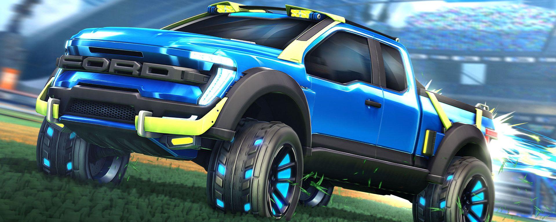 Ford e Rocket League insieme per il pick-up F-150