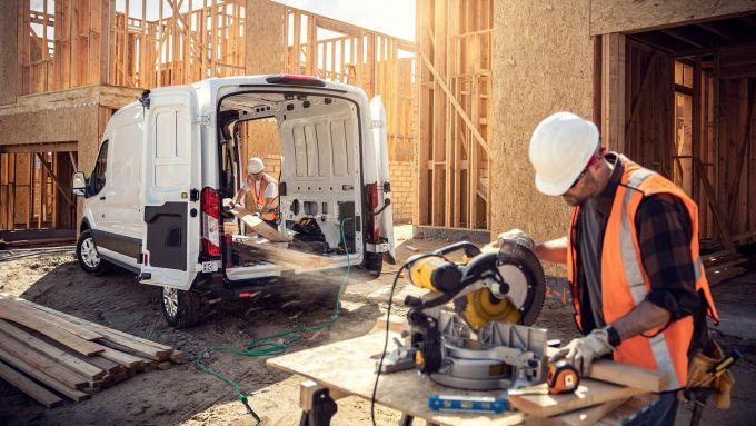 Ford E-Transit: il compagno a zero emissioni dei lavoratori