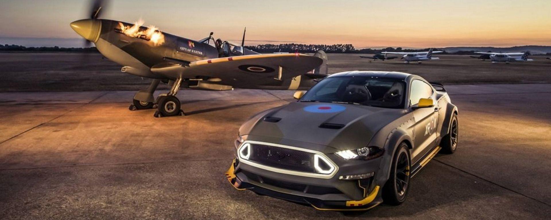 Ford Eagle Squadron Mustang GT: omaggio a Spitfire e RAF