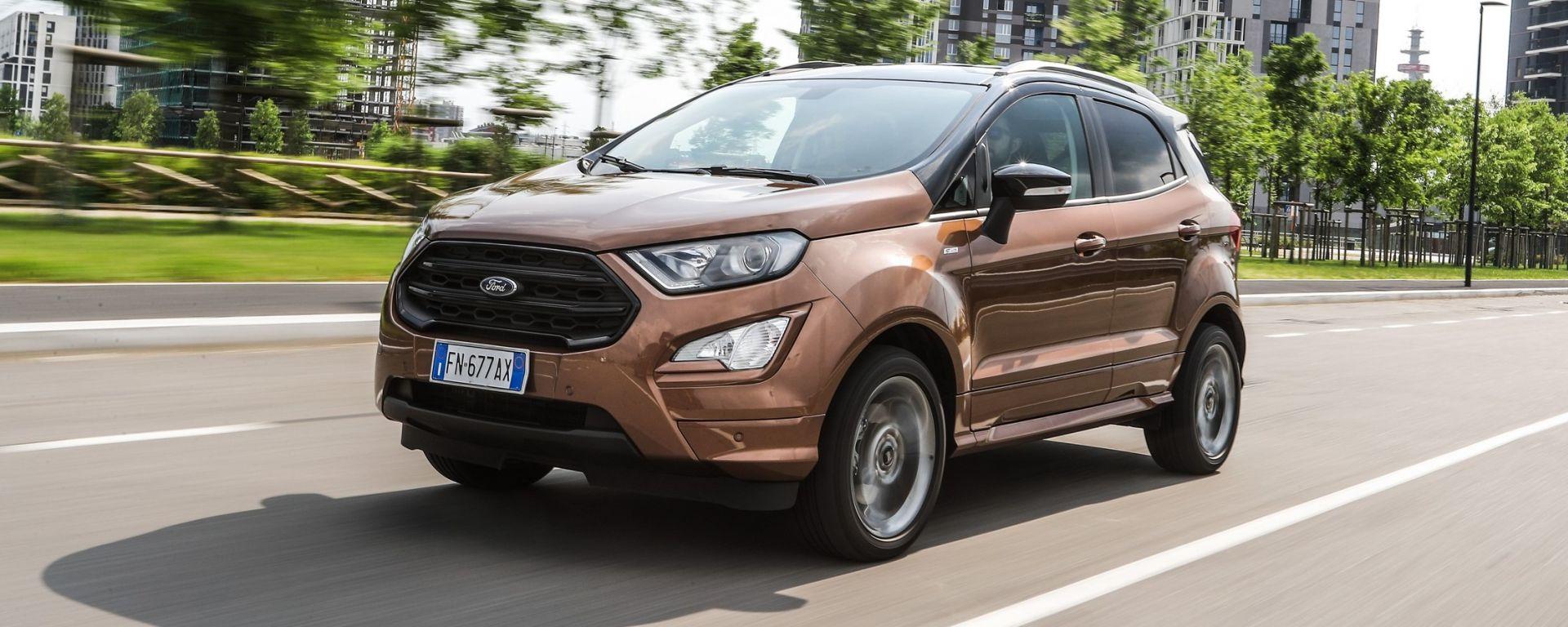 Ford EcoSport 1.5 TDCi 100 cv: nel suo piccolo, dà tanto