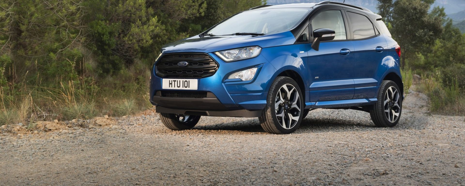 Ford EcoSport 2018, anche a trazione integrale