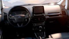 Ford EcoSport Active 2021: interni, abitacolo e plancia