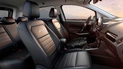 Ford EcoSport Active 2021: interni, l'abitacolo anteriore