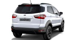 Ford EcoSport Active 2021: vista 3/4 posteriore