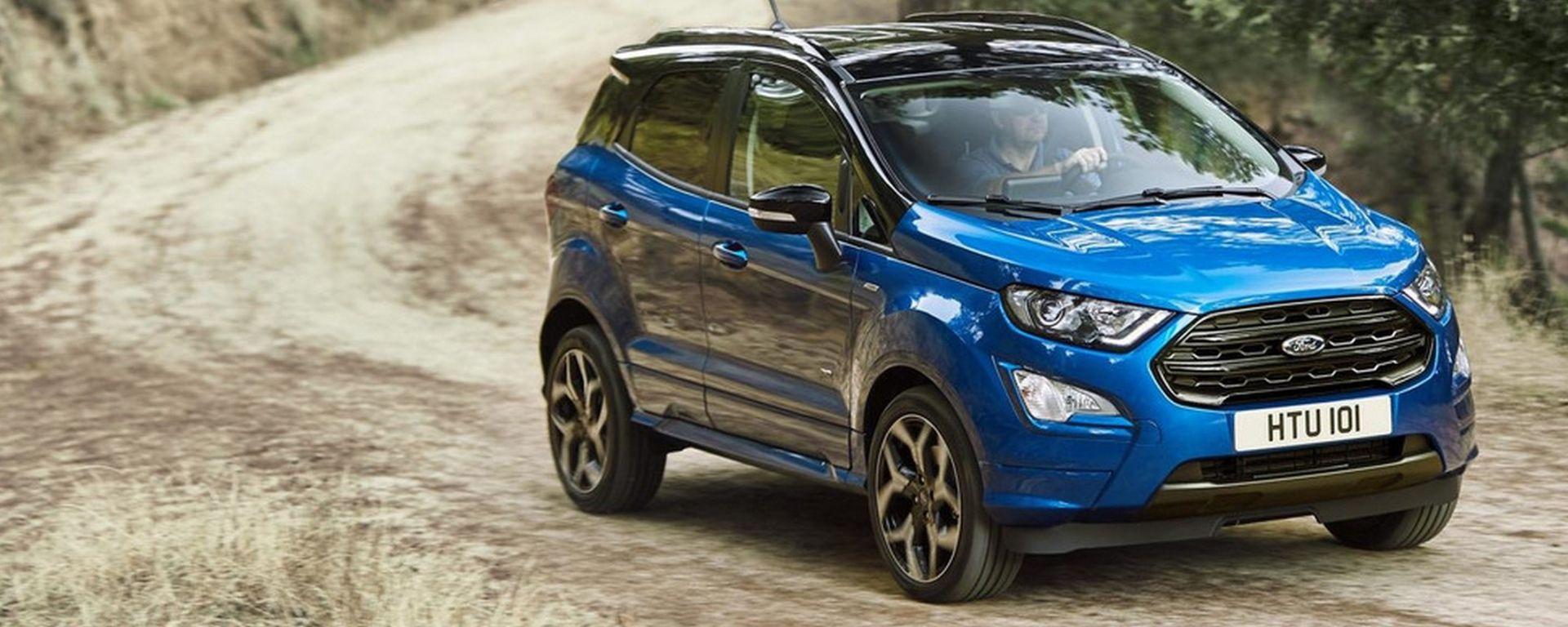Ford EcoSport 2018: la prova della trazione integrale