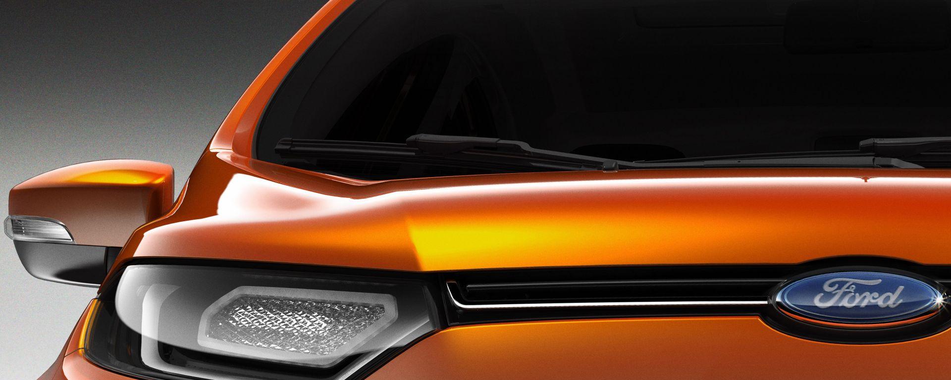 Ford EcoSport Concept: debutterà a Nuova Delhi