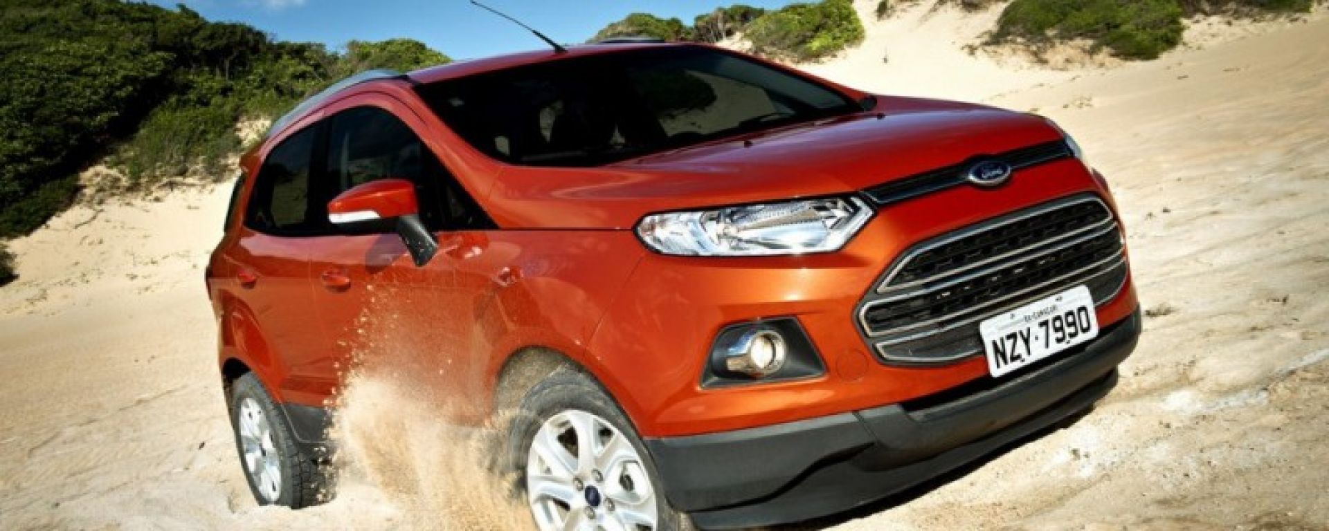 Ford EcoSport, debutto in Brasile