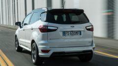 Ford EcoSport diesel vista dinamica 3/4 posteriore