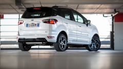 Ford Ecosport  ST-Line: vista 3/4 posteriore