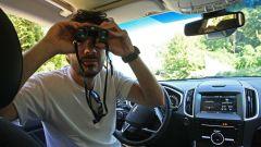 Ford Edge: a bordo della SUV Mark Grylls scruta l'orizzonte
