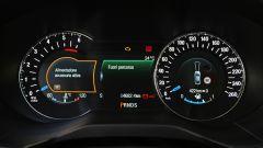 Ford Edge: la strumentazione è mista analogico digitale
