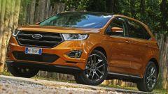 Ford Edge: linee muscolose e sguardo a led per la SUV dell'Ovale